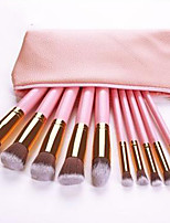 cheap -Professional Makeup Brushes 10pcs Professional Soft Full Coverage Comfy Wooden / Bamboo for Blush Brush Foundation Brush Makeup Brush Eyeshadow Brush