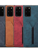 cheap -Case for Samgung Galaxy Note10 Note10 pro Note 20 Wallet Shockproof Back Cover Solid Colored Genuine Leather