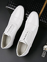 cheap -Men's Fall Business Office & Career Oxfords PU Breathable White