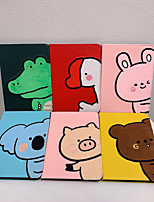 cheap -Case For Apple iPad  air1 air2 pro 9.7inch 2017 2018 with Stand Flip Full Body Cases PU Leather TPU Protective Stand Cover Pattern cute lovely animal