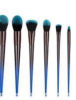 cheap -Professional Makeup Brushes 7pcs Professional Soft Full Coverage Comfy Artificial Fibre Brush Plastic for Blush Brush Foundation Brush Makeup Brush Eyeshadow Brush