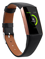 cheap -Watch Band for Fitbit Charge 3 / Fitbit Charge 4 Fitbit Sport Band Quilted PU Leather Wrist Strap