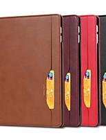 cheap -Case For Apple iPad Air  iPad 2018  iPad Air 2 iPad 2017  iPad Pro9.7 iPad5 6 7 8 9  Card Holder Shockproof Magnetic Full Body Cases Solid Colored PU Leather TPU