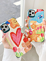 cheap -Case For Apple iPhone 7 7Plus iPhone 8 8Plus iPhone X iPhone XS XR XS max iPhone 11 11 Pro 11 Pro SE Max Pattern Back Cover Cartoon TPU