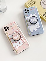 cheap -Case For iPhone 7 plus 8 plus XR XS XS MAX X SE 11 11Pro 11ProMax Pattern Back Cover  TPU with Stand Animal