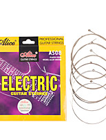 cheap -NAOMI Alice Electric Guitar Strings A508-SL Coated Steel Strings Nickel Alloy Wound Strings Guitar Accessories