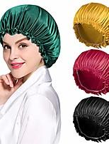 cheap -4pcs satin bonnet for women natural curly hair,e