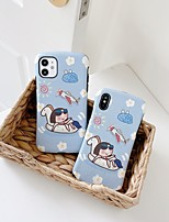 cheap -Case For Apple iPhone 6 6s 6p 6sp iPhone 7 7P 8 8P iPhone X iPhone XS iPhone XR iPhone XS max iPhone 11 11 Pro 11 Pro Max Pattern Back Cover Cartoon TPU