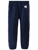 cheap -Kids Girls' Basic Solid Colored Pants Blue