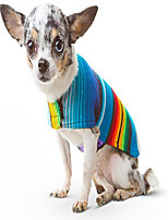 cheap -dog sweater - handmade dog poncho from authentic mexican blanket