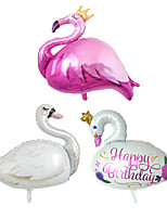 cheap -Party Balloons 3 pcs Flamingo Party Supplies Boys and Girls Party Decoration 3 Styles for Party Favors Supplies or Home Decoration