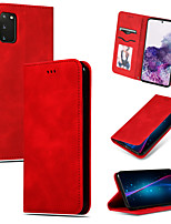 cheap -Case For Samsung Galaxy S8 S8 Plus S9 S9 Plus S10 S10 E S10 Plus S10 5G Note 8 Note 9 Note 10 Note 10 Plus Card Holder Flip Full Body Cases Solid Colored PU Leather TPU