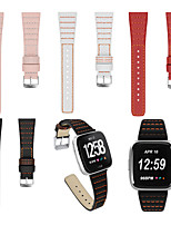 cheap -Watch Band for Fitbit Versa / Fitbit Versa Lite / Fitbit  Versa 2 Fitbit Leather Loop Genuine Leather Wrist Strap