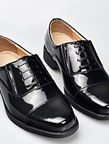 cheap -Men's Fall Business Daily Oxfords Cowhide Breathable Non-slipping Shock Absorbing Black