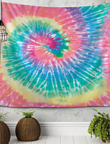 cheap -Tie-dye Abstract Illustration Tapestry Wall Hanging Tapestries Wall Blanket Wall Art Wall Decor Landscape Painting Tapestry Wall Decor