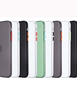 cheap -Case For APPLE iPhone 7 8 7plus 8plus XR XS XSMAX X SE 11 11Pro 11ProMax  Shockproof Back Cover Solid Colored TPU