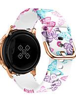 cheap -Watch Band for Samsung Galaxy Watch 46mm Samsung Sport Band Silicone Wrist Strap