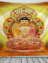 cheap -Buddha Lord Tapestry Wall Hanging Tapestries Wall Blanket Wall Art Wall Decor Landscape Painting Tapestry Wall Decor