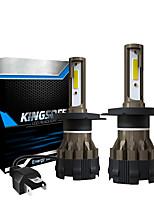 cheap -2PCS LED 6000LM Mini Car Headlight Bulbs K2-H4 Auto Lamps 6000K IP68 Waterproof