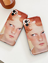 cheap -Case For iPhone 7 7Plus iPhone 8 8Plus iPhone X iPhone XS XR XS max iPhone 11 11 Pro 11 Pro Max SE Pattern Back Cover Word Phrase TPU PC