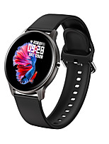 cheap -JSBP HLW02 Smart Watch BT Fitness Tracker Support Notify Full Touch Screen/Heart Rate Monitor Sport Stainless Steel Bluetooth Smartwatch Compatible IOS/Android Phones