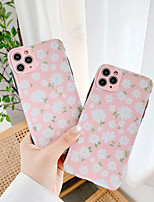 cheap -Case For  iPhone 7 7Plus iPhone 8 8Plus iPhone X iPhone XS XR XS max iPhone 11 11 Pro 11 Pro Max Pattern Back Cover Flower TPU