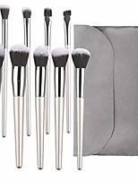 cheap -cosmetic brushes set 9 pcs brush kit foundation powder concealers eyeshadows makeup brush