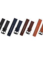 cheap -Watch Band for Ticwatch 2 / Ticwatch E TicWatch Classic Buckle / Business Band Quilted PU Leather Wrist Strap
