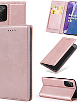 cheap -Case For Samsung Galaxy Galaxy S10 S10 Plus S10 E Note 10 Note 10 Plus S20 S20 Plus S20 Ultra Card Holder Flip Full Body Cases Solid Colored PU Leather