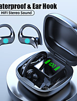 cheap -LITBest MD03 TWS True Wireless Earbuds Bluetooth5.0 Stereo with Microphone with Charging Box IPX5 Auto Pairing for Travel Entertainment