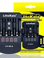 cheap -Liitokala Lii-NL4 Multifunction Charger 1.48v 1.5V Ni MH AA / AAA 9V Battery Charger DC12V 1AAC110-240V EU/US Plug