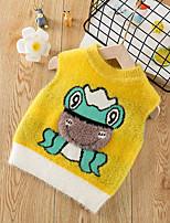 cheap -Toddler Boys' Basic Animal Print Sleeveless Tank & Cami Yellow