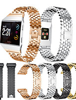 cheap -Metal Stainless Steel Watch Band for Fitbit Ionic Replaceable Bracelet Wrist Strap Wristband