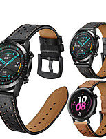 cheap -Leather Watch Band for Huawei Watch GT 2e / GT2 46mm / GT2 42mm / Honor Magic Watch 2 46mm 42mm / GT Active / Watch 2 / Watch 2 Pro Replaceable Bracelet Wrist Strap Wristband