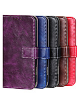 cheap -Case For Sony Xperia XZ5  Xperia 5  Xperia 1II  Xperia 10II Xperia L4 Card Holder Shockproof Magnetic Full Body Cases Lines Waves Solid Colored PU Leather TPU