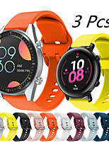 cheap -3 PCS Sport Silicone Watch Band for Huawei Watch GT 2e / Honor Magic Watch 2 46mm 42mm / GT2 46mm / GT2 42mm / GT Active / Watch 2 / Watch 2 Pro Replaceable Bracelet Wrist Strap Wristband