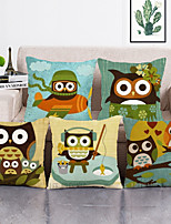 cheap -1 Set of 5 Pcs Throw Pillow Covers Modern Decorative Throw Pillow Case Cushion Case for Room Bedroom Room Sofa Chair Car,18*18 Inch 45*45cm