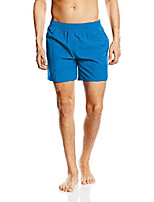 cheap -but& #39;s solid leisure swim shorts, danube blue large danube blue