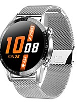 cheap -T03 Unisex Smartwatch Android iOS Bluetooth Heart Rate Monitor Blood Pressure Measurement Calories Burned Thermometer Health Care ECG+PPG Pedometer Call Reminder Sedentary Reminder Alarm Clock