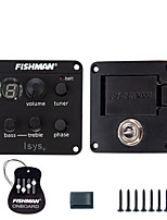 cheap -NAOMI Acoustic Guitar Pickup Fishman ISYS  EQ Clip on Sound Hole Pickup Onboard Preamps EQ Tuner