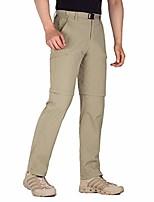 cheap -men's outdoor cargo convertible hiking pants lightweight waterproof quick dry tactical pants nylon spandex (khaki-convertible 34w x 30l)