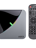 cheap -A95X F3 Air 8K RGB Light TV Box Android 9 Amlogic S905X3 4GB 64GB Wifi 4K Netflix Smart TVBOX Android