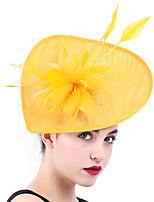 cheap -Queen Elizabeth Audrey Hepburn Retro Vintage 1950s 1920s Kentucky Derby Hat Pillbox Hat Women's Costume Hat White / Black / Red Vintage Cosplay Party Prom