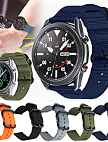 cheap -Nylon Watch Band for Samsung Galaxy Watch 3 45mm / Galaxy Watch 46mm / Gear S3 Classic / Gear S3 Frontier Replaceable Bracelet Wrist Strap Wristband