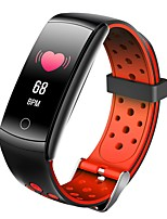 cheap -Q8T Unisex Smart Wristbands Bluetooth Heart Rate Monitor Blood Pressure Measurement Calories Burned Thermometer Blood Oxygen Monitor Pedometer Call Reminder Sleep Tracker Sedentary Reminder Alarm