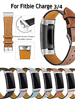 cheap -Applicable to the fitbit charge 3 4 sports bracelet strap charge4 leather strap