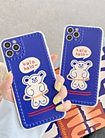 cheap -Case For Apple iPhone 7 7P iPhone 8 8P iPhone X iPhone XS XR XS max iPhone 11 11 Pro 11 Pro Max Pattern Back Cover Word Phrase Cartoon TPU