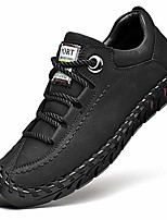 cheap -men's driving leather walking lightweight casual lace loafer handmade sports athletic work shoes black 9.5 m us 43