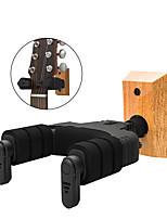 cheap -NAOMI  Auto Lock Guitar Hanger Hook GH-110W Guitar Hook Holder Wall Mount Mahogany Wood Base For Acoustic Folk Classic Guitar Parts