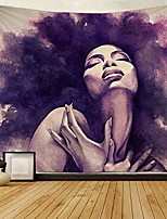 "cheap -tapestry african american sexy women lady tapestries wall art hippie bedroom living room dorm wall hanging throw tablecloth bedspread(50""¡á60"